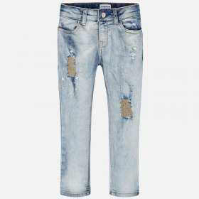 Mayoral Bleached Jeans Style 3503
